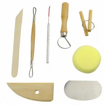 Basic Pottery Tools Set | Bo0008