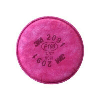 3M 2091 P100 Particulate Filter 2pc | 8801230109257