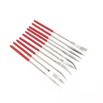 Diamond Angle Riffier File 10Pc Set | DMD004