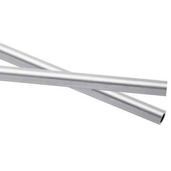 925 Sterling silver Heavy-Wall Tubing OD:4mm ID:3mm | Sold by cm | 100426 | Bulk Prc Avlb