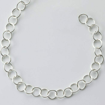 925 Sterling silver 4.8mm Cable Chain | Sold by Ft | 69246710