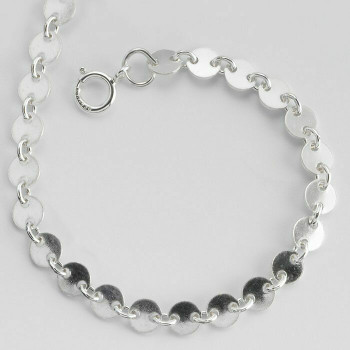 Discontinued | 925 Sterling silver 4mm Round Link Chain, 16"""