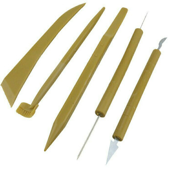 Plastic Ceramic Clay Modelling Tool Set of 5 | bo0014