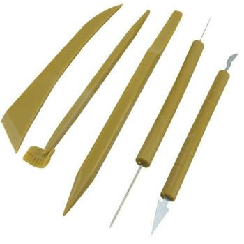 Plastic Ceramic Clay Modelling Tool Set of 5 | bo0014