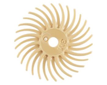 "3M 6 Micron 3/4"" Radial Bristle Disc | 332585 |Bulk Prc Avlb"