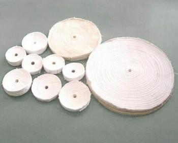 "White Cotton Cloth Buffing Razor Wheel 150mm(6"") | WB006"