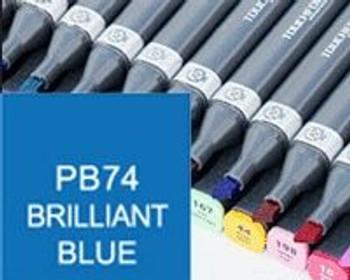 Touch Marker MKpb074 Brilliant Blue | MKpb074