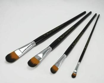Phoenix filbert synthetic nylon paintbrush #04   BG270204