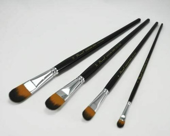 Phoenix filbert synthetic nylon paintbrush #04 | BG270204