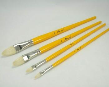 Phoenix hog bristles paintbrush #08 | BG180208