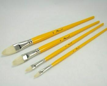 Phoenix hog bristles paintbrush #10 | BG180210