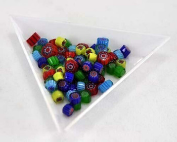 MFC - Millefiore Pattern Glass Beads 0.5 oz about 100pc | MFC05