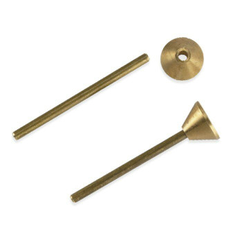 "Brass 1/8"" Sprue Former and Rod Set 