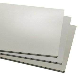 "6"" x 12"" Nickel Silver Alloy Sheet, 18Ga(1mm)   131118"