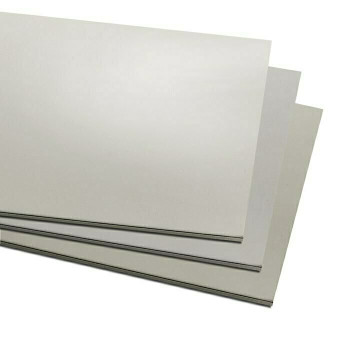 "6"" x 12"" Nickel Silver Alloy Sheet, 18Ga(1mm) 