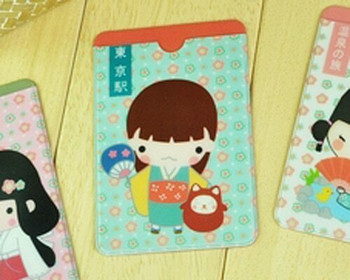 Mokuko Card Bag Container Style 2   MBCB0082