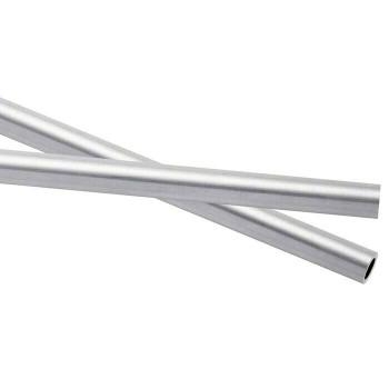 925 Sterling silver Heavy Wall Tubing,OD 7mm ID 5.7mm   Sold by cm   100432   Bulk Prc Avlb