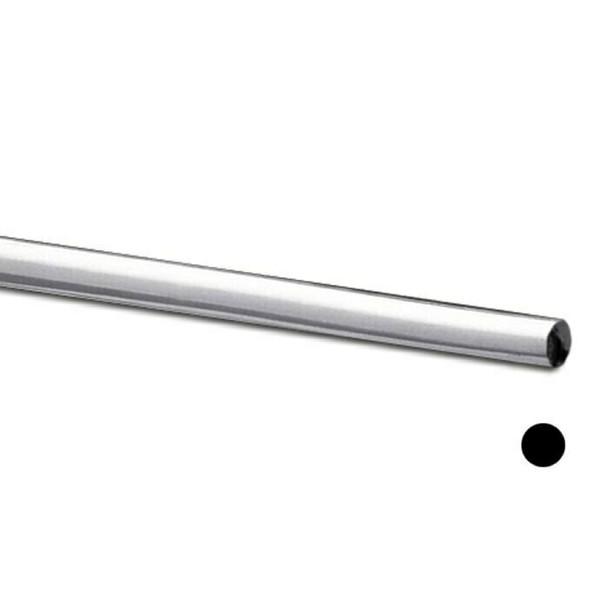 925 Sterling Silver Round Wire | 24ga (0.51mm) | Half-Hard | Sold by ft | Bulk Price Av| 100354