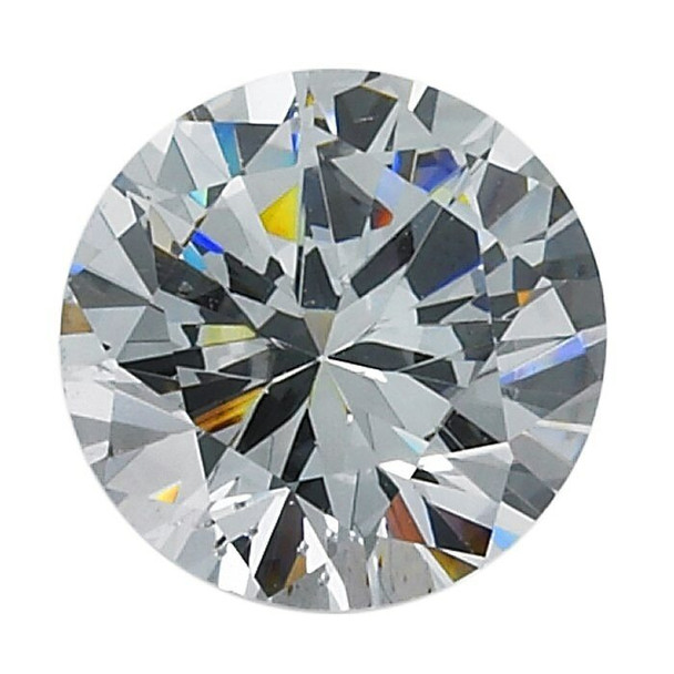 CZ 1mm Round White Faceted Stone, Sold By Each | 91120 | Bulk Avlb