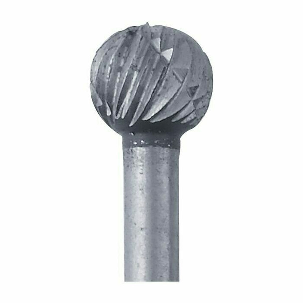 High-Speed Steel Round Bur, 5.2mm |Sold by Each| 345522