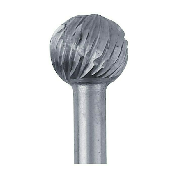 High-Speed Steel Round Bur, 5.6mm |Sold by Each| 345524