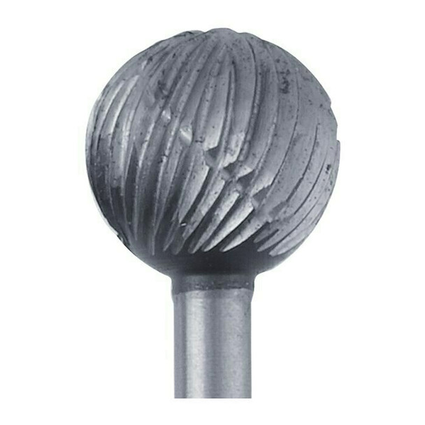 High-Speed Steel Round Bur, 7.6mm |Sold by Each| 345529