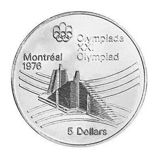Assorted $5 Montreal Olympic Sterling Silver Coin   SGB4901