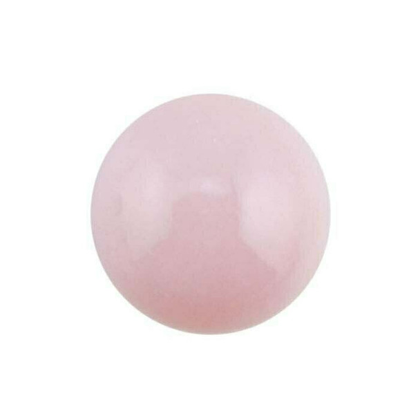 Pink Opal 8mm Round Cabochon Sold By each | 78918