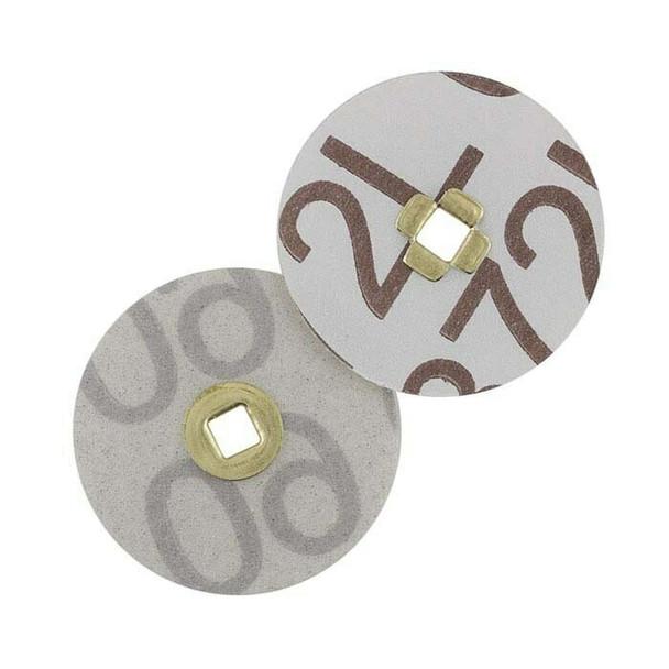 """Magnum Snap Aluminum Oxide Sanding Disk, 7/8""""M, 220-Grit   337227"""