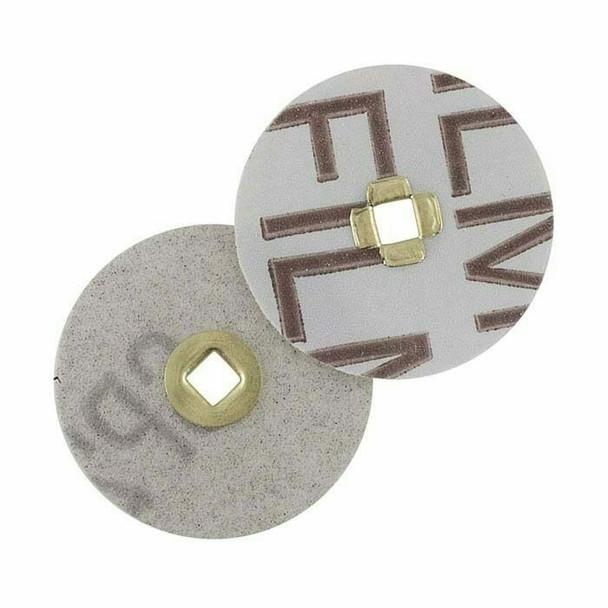 "Magnum Snap Aluminum Oxide Sanding Disk, 150-Grit, 7/8""C, Box/100 | 337228"