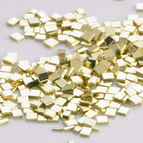 14K Plumb Yellow Gold Chip Solder, Medium | Sold by Pc |Bulk Prc Avlb| 600826