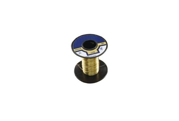 (Discountinued) Wire-Brass Binding 18Ga 1/4-Lb   43.511