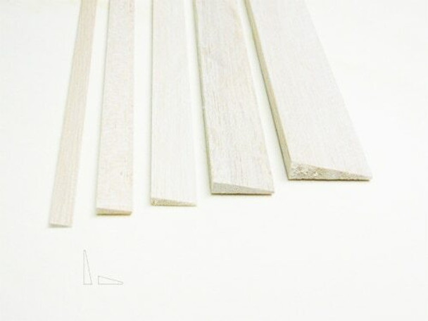 "Balsa wood, Trailing edge, 3/8 x 1 1/2 x 48"", Sold By Each | BSTE4805"