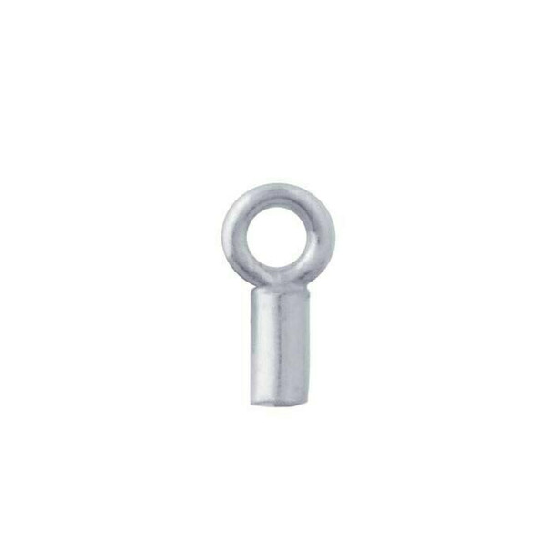 Sterling Silver End Cap | .9mm ID | Sold By Pc | 693435