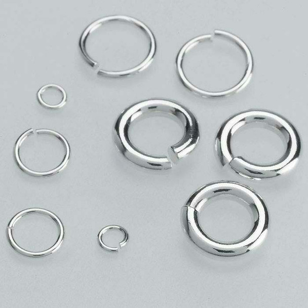 Sterling Silver 22ga Round Jump Ring | 5.7mm OD | 4.5mm ID | Bulk Prc Avlb | Sold by Each | 689314