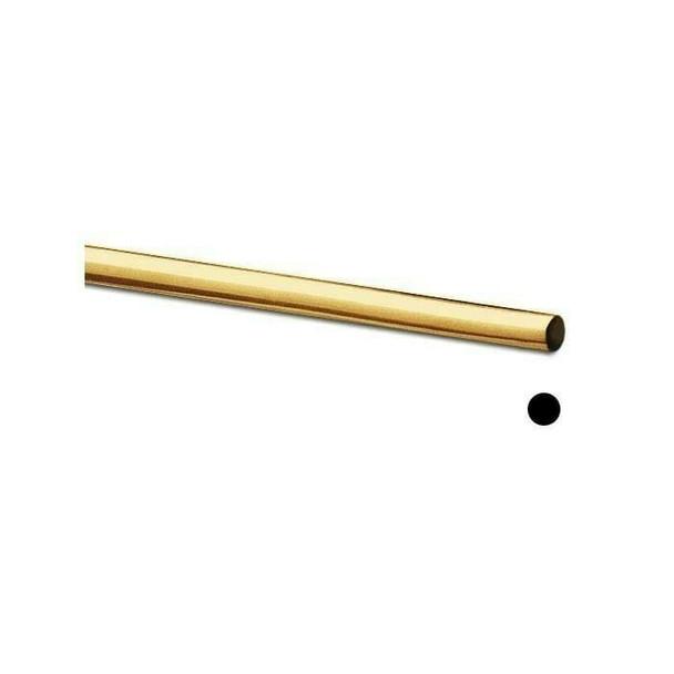 Jeweler's Brass Round Wire, 4-Oz. Spool, 14-Ga., Dead Soft | 130500 |Bulk Prc Avlb