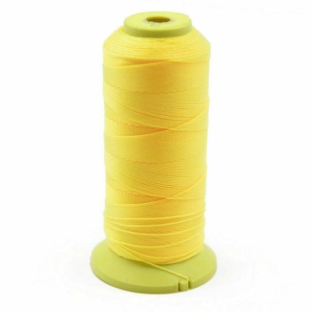 Nylon Cord 0.9mm   Sunshine Yellow   Sold by Spool   NL0908