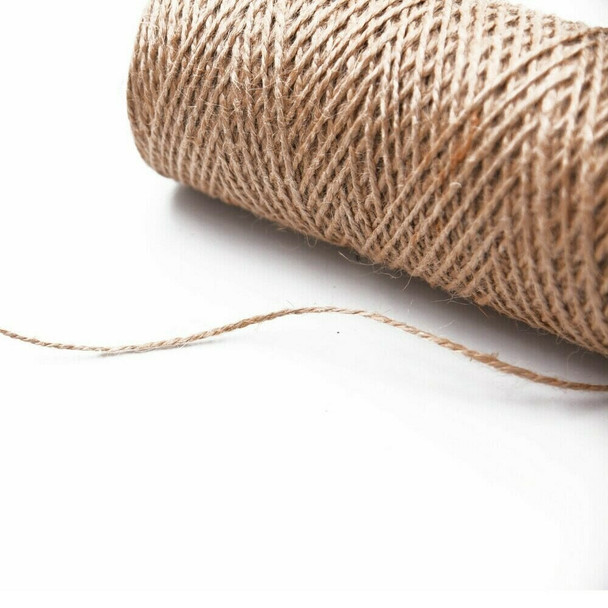 Burlap String 1.5mm   Sold by Metre   BL02