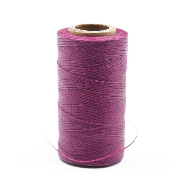 Nylon Cord Coated in Wax 1 mm | Magenta | Sold by Spool | NWS16