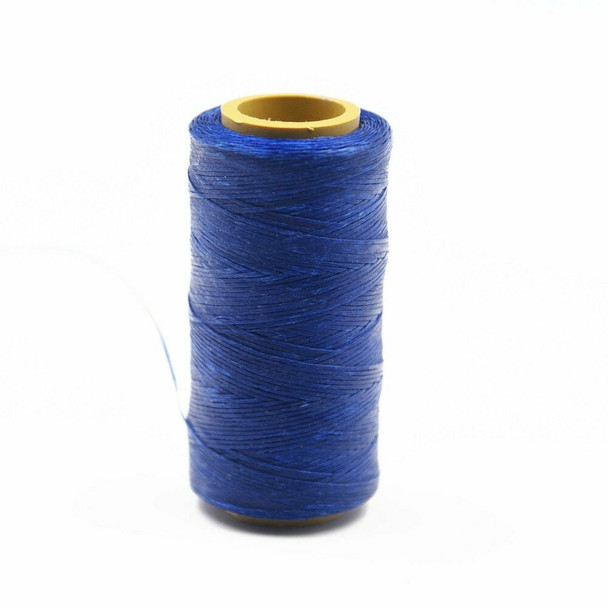 Nylon Cord Coated in Wax 1 mm | Cobalt Blue | Sold by Spool | NWS08