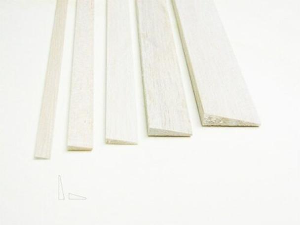 "Balsa wood, Trailing edge, 1/8 x 1/2 x 12"", Sold By Each | BWP1274"