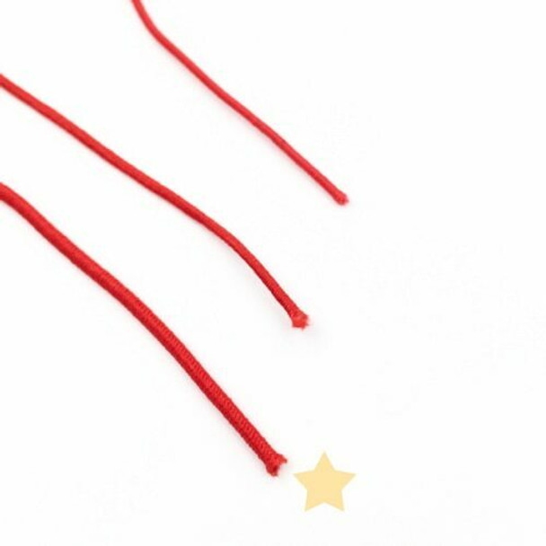 Elastic Cord | Red | 1.5 mm dia. | Sold by Metre | CYM122