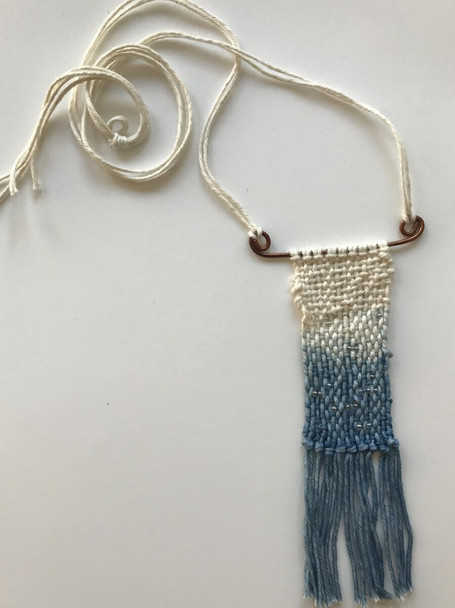 Mini Tapestry Necklace Workshop with Kate Ward