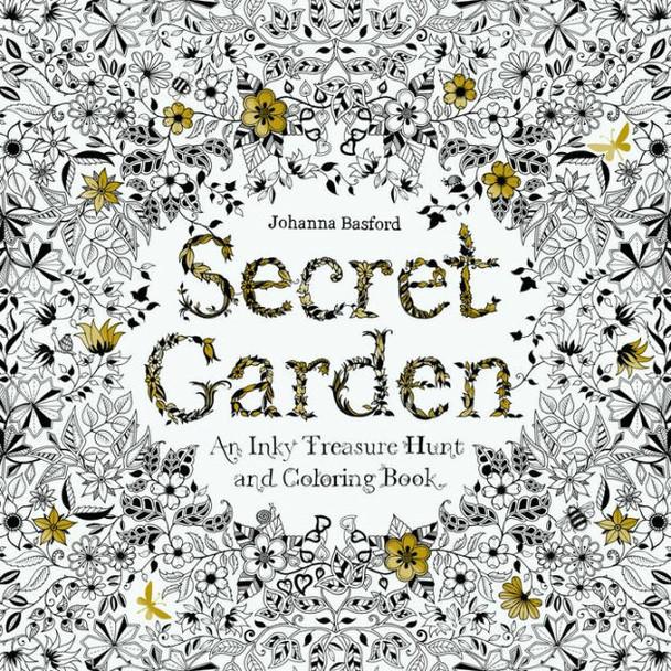 Secret Garden Colouring Book | SCG01