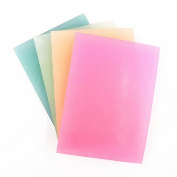 Rubber Cut Plate   Translucent Colour   14.5 x 10.5 cm   YX0054