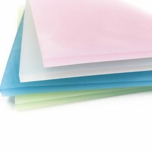 Rubber Cut Plate | Translucent Colour | 20.8 x 14.4 cm | YX0031