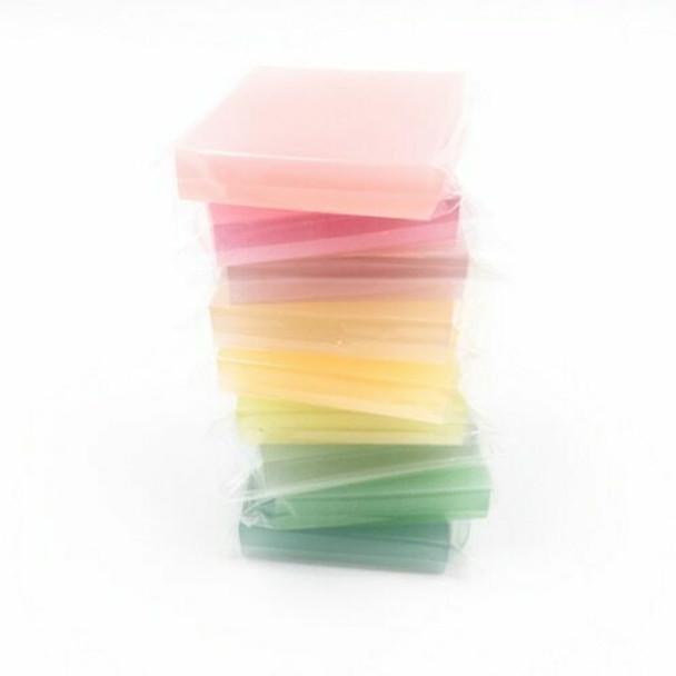 Rubber Cut Plate   Translucent Colour   4.8x 4.8 cm   YX0049