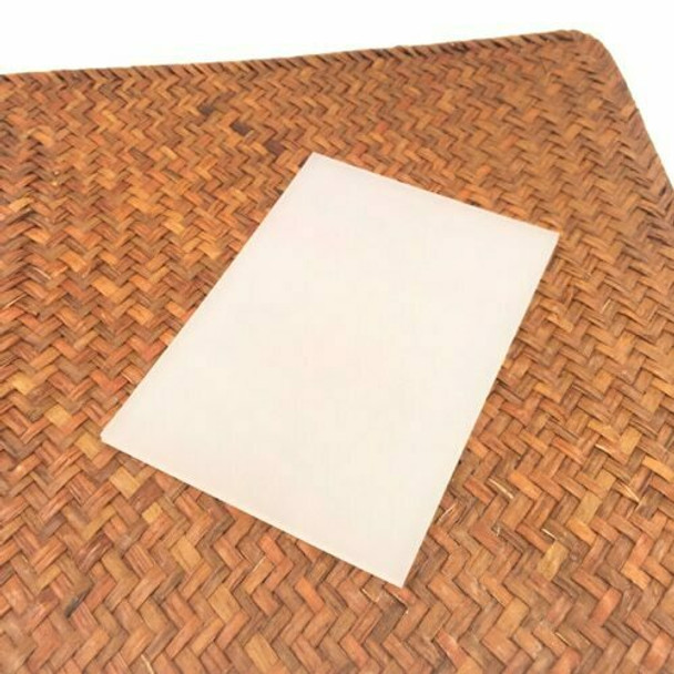 Rubber Cut Plate   Translucent Thin Plate   14.4 x 10.4 x 0.5 cm   YX0009