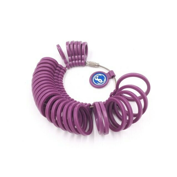 Plastic Ring Sizer   31 Sizes    H203616