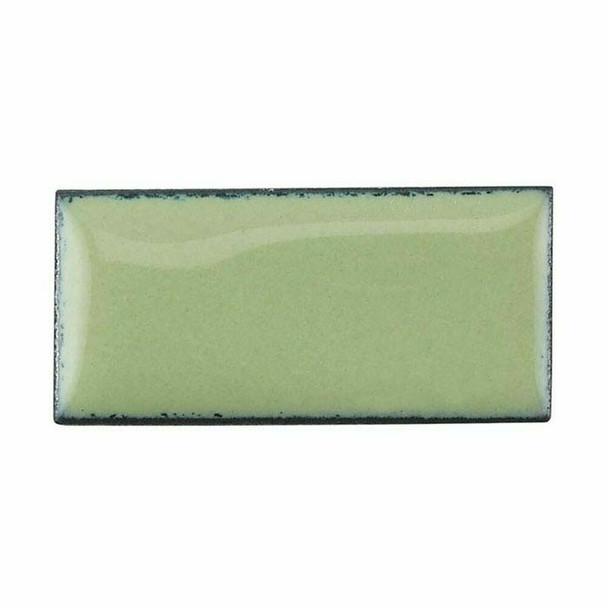 Thompson Lead-Free Opaque Enamel 1308 Lichen Green 0.3 oz Sample --